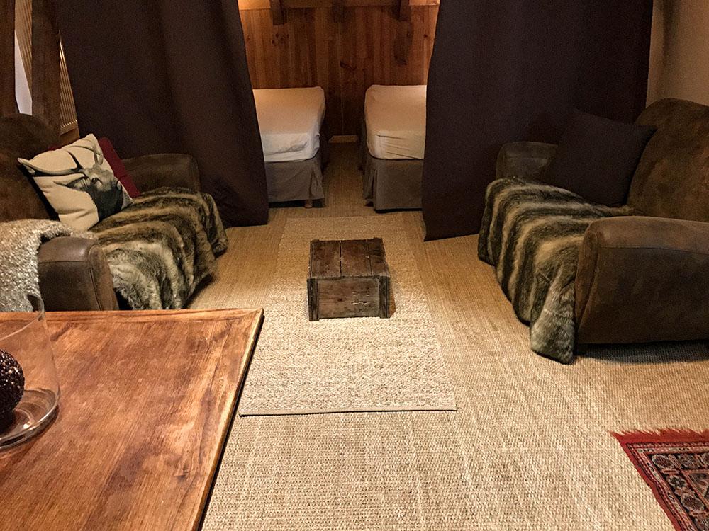 La Cle des Bois - Chambres d'hôtes à Bourg d Oisans - Suite épicéa - chambre