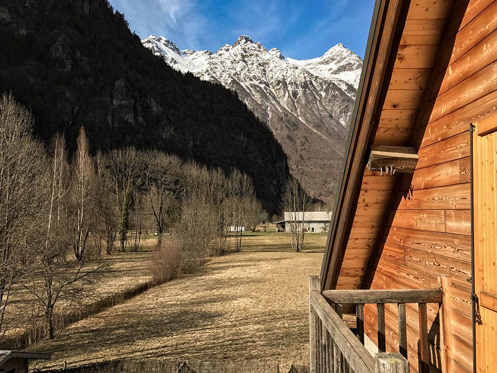 La Cle des Bois - Chambres d'hôtes à Bourg d Oisans - Suite épicéa -vue