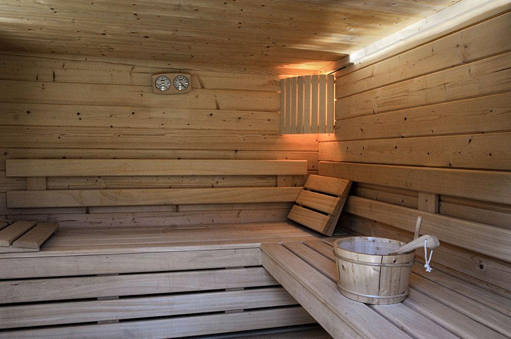 La Cle des Bois - Chambres d'hôtes à Bourg d Oisans -sauna idéal pour la détente des cyclistes et skieurs